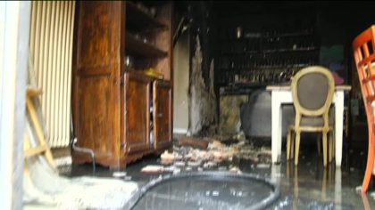 Due ristoranti dati alle fiamme nel centro storico di Fano (Foto e Video)