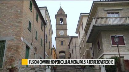 Fusione comuni: no a Colli al Metauro, si a Terre Roveresche – VIDEO