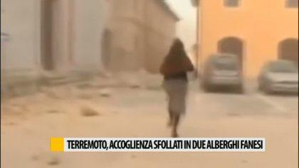 Terremoto, accoglienza sfollati in due alberghi fanesi – VIDEO