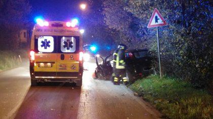 Incidente sulla Flaminia, feriti e auto distrutte
