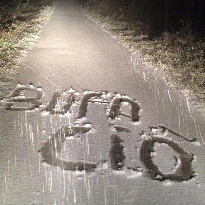 E' arrivata la neve in collina. Attenzione sulle strade