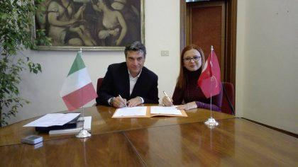 Fano, delegazione Turca ricevuta in Municipio.