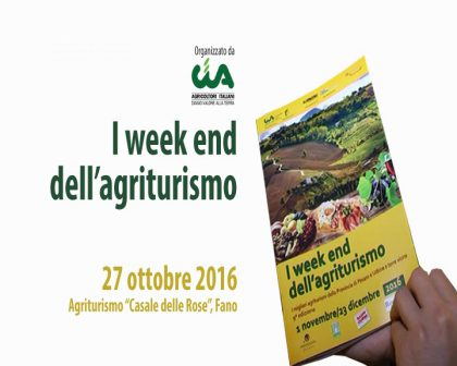 CIA Tombaccia – I week end dell'agriturismo