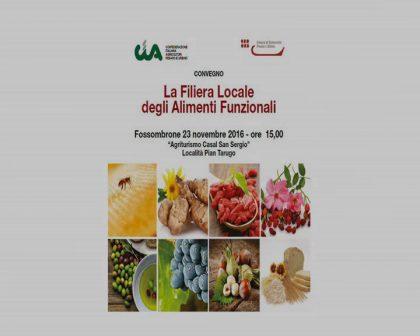 CIA Fossombrone – La filiera locale degli alimenti funzionali