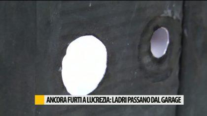 Ancora furti a Lucrezia: ladri passano dal garage – VIDEO