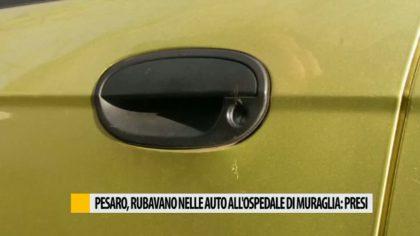 Rubano nelle auto parcheggiate all'ospedale di Muraglia. Arrestate due persone – VIDEO