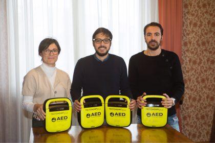 Mondolfo, il comune dona 4 defibrillatori a scuole e societa' sportive.