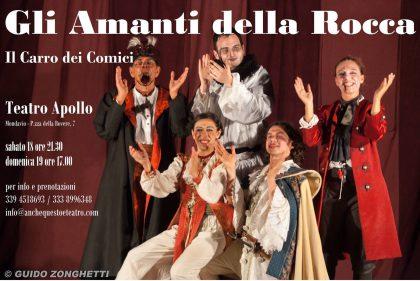 """Mondavio, Teatro Apollo arriva """"Gli Amanti della Rocca"""""""