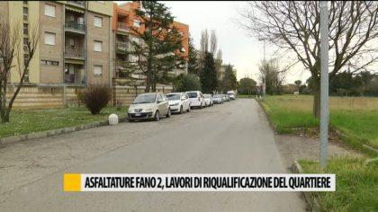 Asfaltature a Fano 2, lavori di riqualificazione del quartiere – VIDEO