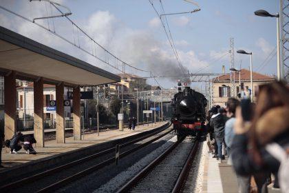 Lo storico treno a vapore Ph Wilson Santinelli