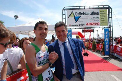 Il Sindaco Seri si unisce ai maratoneti: trasferta oltre oceano per Fano e la ColleMar-athon