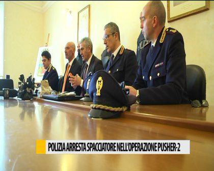 Polizia arresta spacciatore 17/02/2017
