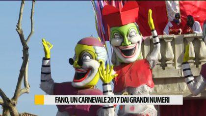 CARNEVALE DI FANO, EDIZIONE 2017 DAI GRANDI NUMERI