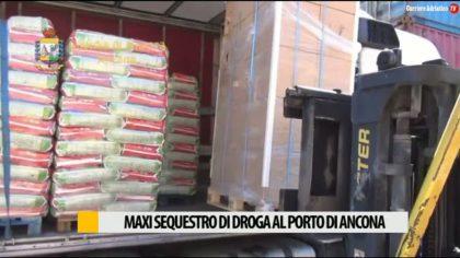 Maxi sequestro di droga al porto di Ancona