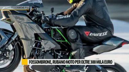 Fossombrone, rubano moto per oltre 300 mila euro