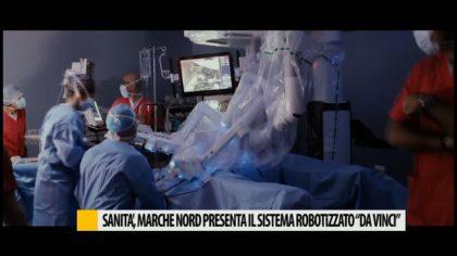 """Sanità, Marche Nord presenta il sistema robotizzato """"Da Vinci"""" – VIDEO"""