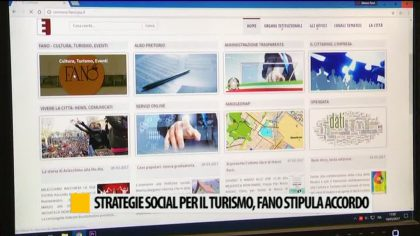 Strategie social per il turismo. Fano stipula accordo – VIDEO