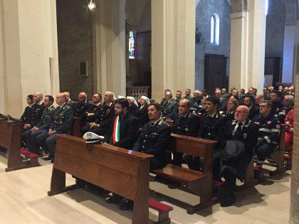 Fano, celebrato presso la cattedrale  il precetto pasquale interforze.