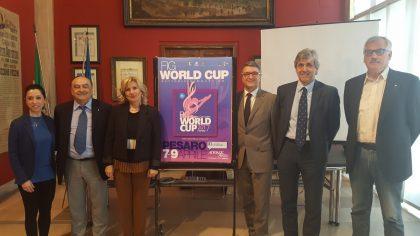 Le migliori ginnaste al mondo all'AdriaticAarena per la World Cup di ginnastica ritmica.