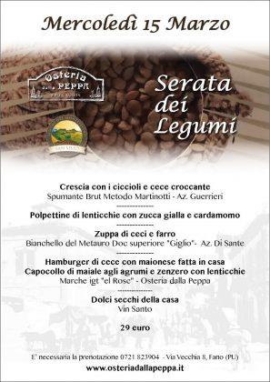 """Eccellenze agricole del territorio, """"dalla Peppa"""", si festeggiano i legumi."""
