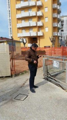 Rischio esondazione Rio Crinaccio, sopralluogo del sindaco