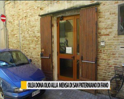 Olea dona olio alla mensa di san Paterniano di Fano