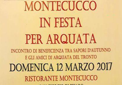 Montecucco in festa per Arquata 2017