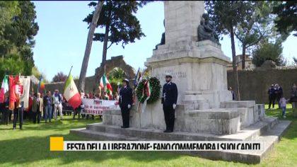 Festa della liberazione: Fano commemora i suoi caduti