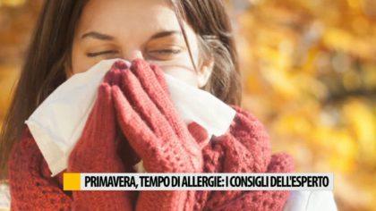 Primavera, tempo di allergie: i consigli dell'esperto