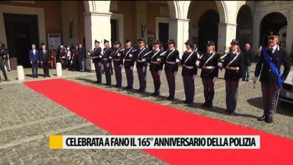 Celebrata a Fano il 165° anniversario della polizia