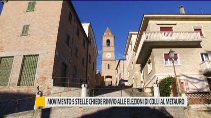 Movimento 5 Stelle chiede rinvio alle elezioni di Colli al Metauro – VIDEO