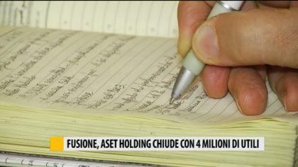 Fusione Aset holding, chiude con 4 milioni di utili