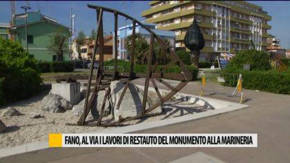 Fano, al via i lavori di restauro al monumento alla marineria