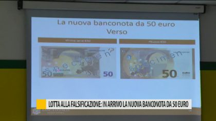 Ecco la nuova banconota da 50 euro in circolazione dal 4 aprile