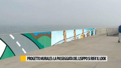 Progetto murales: la passeggiata del Lisippo si rifà il look – VIDEO