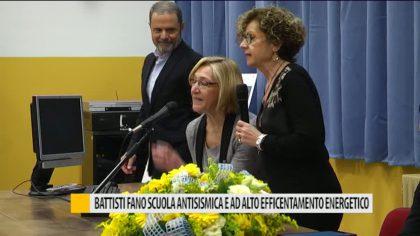 Battisti Fano, scuola antisismica e ad alto efficentamento energetico