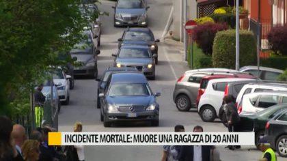 Incidente mortale: muore ragazza di 20 anni