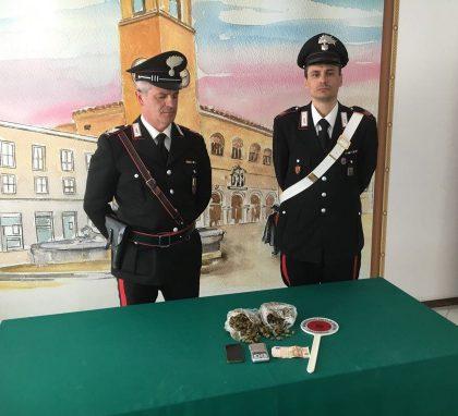Droga negli slip, arrestato minorenne dai Carabinieri di Fano