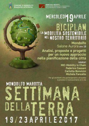 """Inizia oggi a Mondolfo e Marotta  la """"settimana della terra"""""""