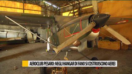 Aereo club Pesaro: negli hangar di Fano si costruiscono aerei
