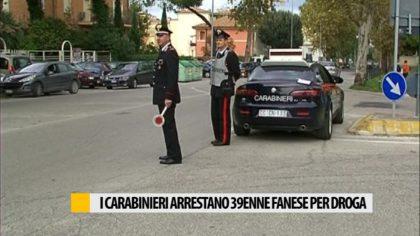 I carabinieri arrestano un 39enne per droga