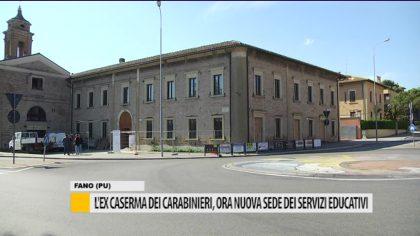 L' ex caserma dei carabinieri, ora nuova sede dei servizi educativi
