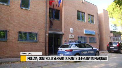 Polizia, controlli serrati durante le festività pasquali