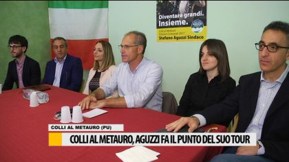 Colli al Metauro, Aguzzi fa il punto della campagna elettorale