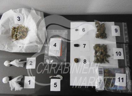 Nuovo arresto per droga a Marotta