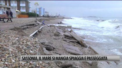 Mareggiate in Sassonia: a rischio centinaia di ombrelloni