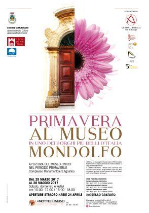 Mondolfo, notte dei Musei e Grand Tour Musei 2017