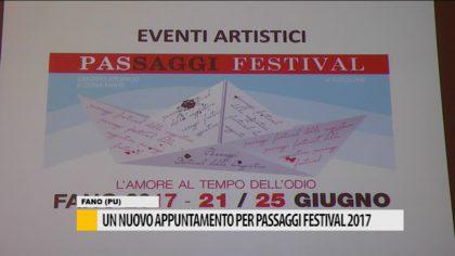Un nuovo appuntamento per passaggi festival 2017