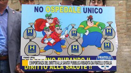 L'importanza del diritto alla sanità pubblica ribadita da fratelli d'Italia  –  Video