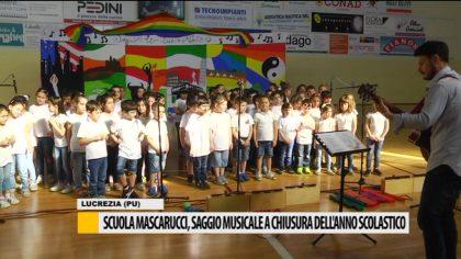 Scuola Mascarucci, saggio musicale a chiusura dell'anno scolastico – Video